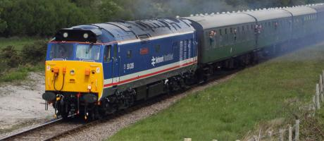 Class 50 50026 'Indomitable' Running Weekend