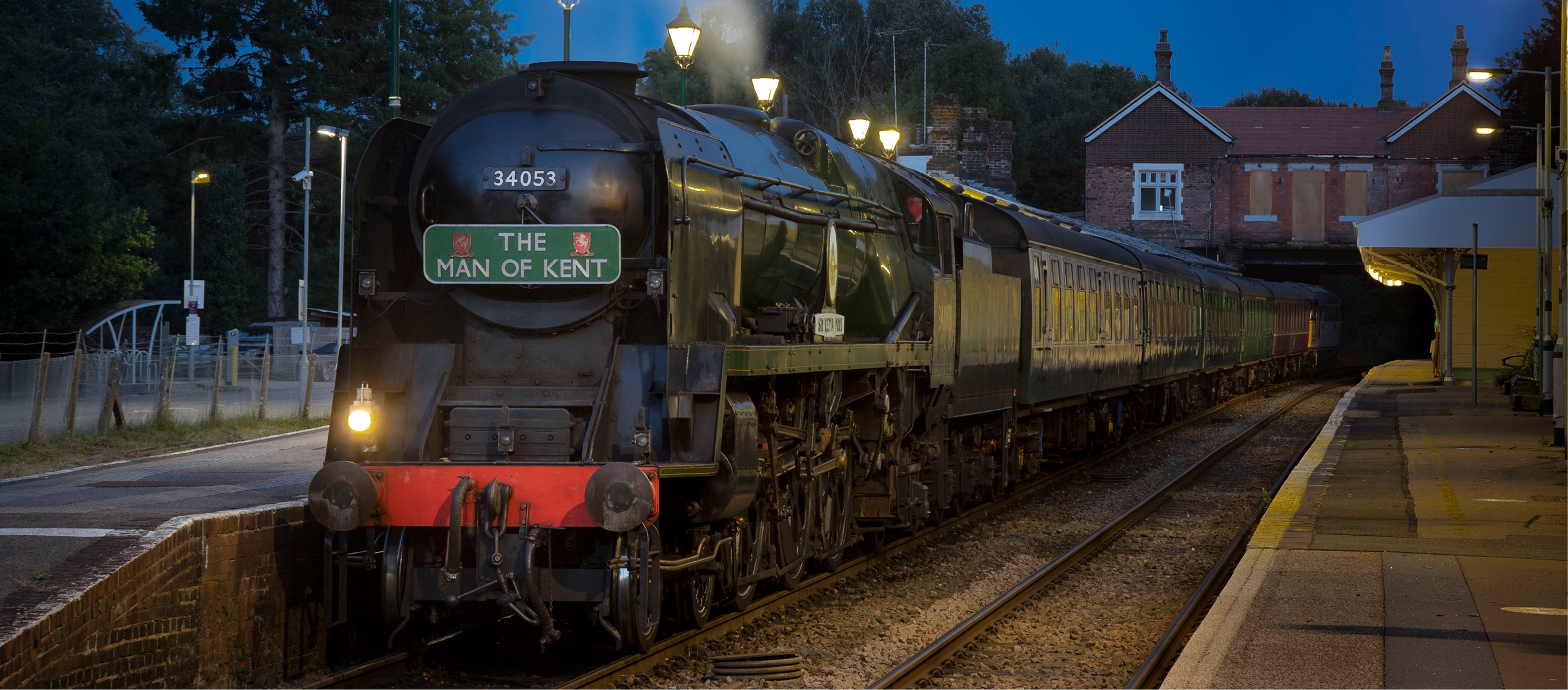 Fish & Chip Supper - with Bulleid Pacific 'Sir Keith Park'