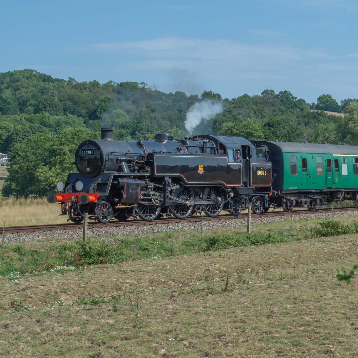 Steam & Heritage Diesel Green Timetable Train Rides