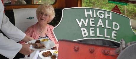'High Weald Belle' Luncheon & Dining Trains 2018 dates now available