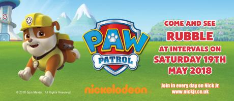 See Rubble from PAW Patrol!