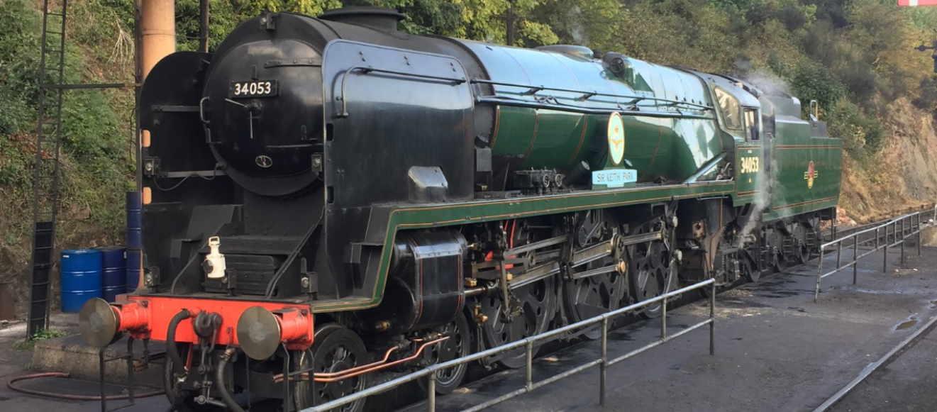 Bulleid Pacific No. 34053 'Sir Keith Park' is coming to the Spa Valley Railway!