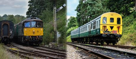 Southern & Scottish Diesels & Electrics Day!