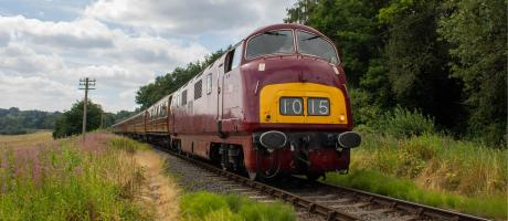 Summer Diesel Gala – visiting 27001 & Warship D821